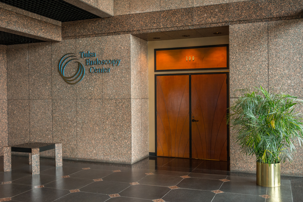 Tulsa Endoscopy Center front door