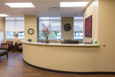 Adult Gastroenterology Associates South lobby
