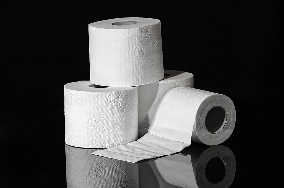 toilet paper - top causes of diarrhea