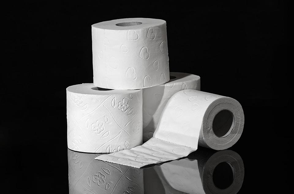 toilet paper - top causes of diarrhea