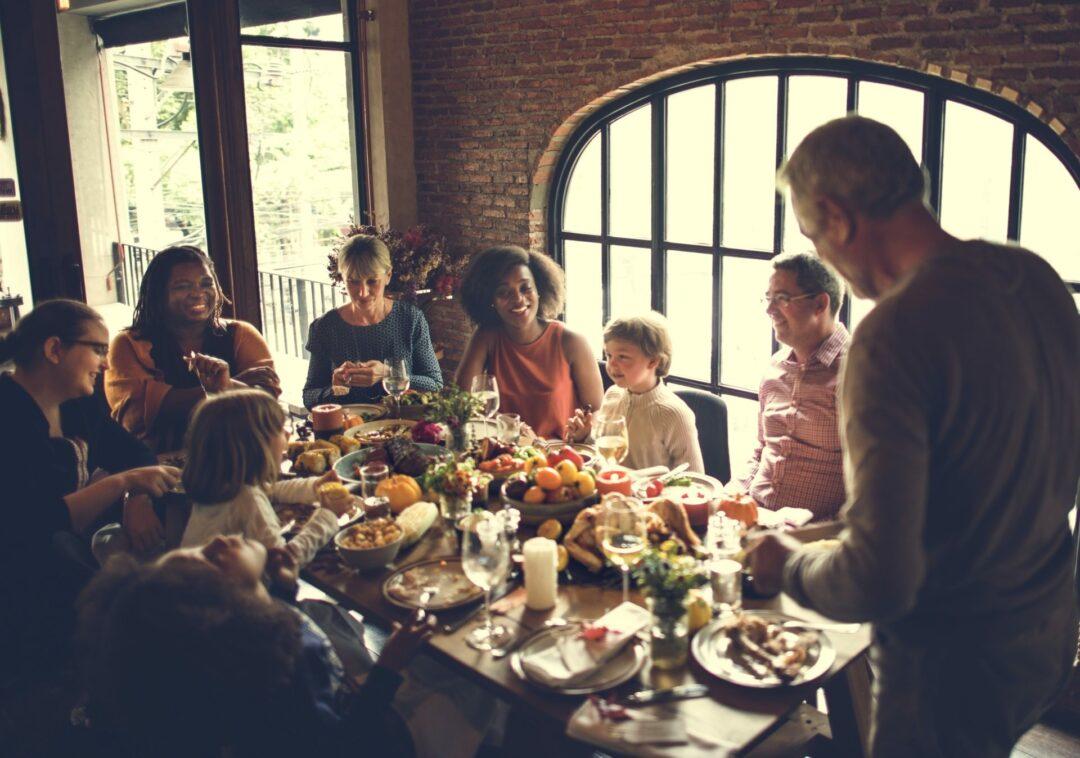 Thanksgiving dinner - seasonal digestive distress
