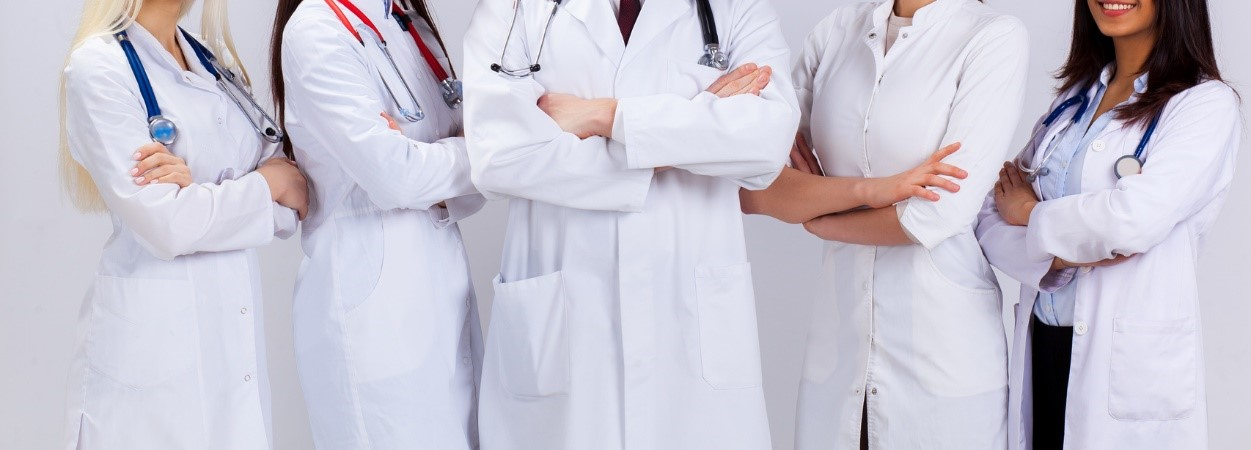 a group of gastroenterologists standing beside each other.